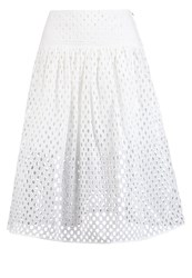 Banana Republic Aline Skirt White