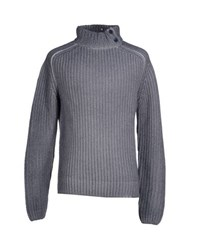 Altea Knitwear Turtlenecks Men Grey