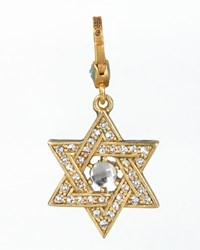Star Of David Charm Jay Strongwater Multi Colors