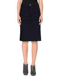 Marani Jeans Skirts Knee Length Skirts Women Black