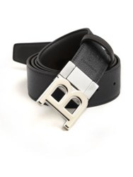 Bally Grained Leather Belt