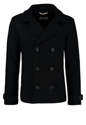 Pier One Classic Coat Black