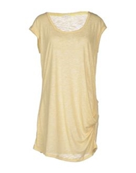 Gold Case T Shirts Light Yellow