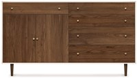 Copeland Furniture Mimo Bedroom 4 Drawers On Right 1 Drawer Over 2 Doors On Left Dresser
