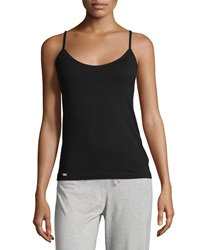 La Perla Scoop Neck Camisole W Shelf Bra Black