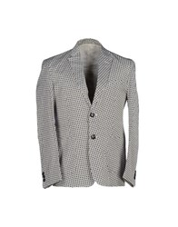 Basso And Brooke Suits And Jackets Blazers Men White