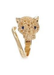 Iosselliani 18Kt Gold Plated Panther Ring