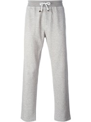 Brunello Cucinelli Slim Fit Track Pants Grey