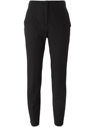 Piazza Sempione Cropped Tapered Trousers Black