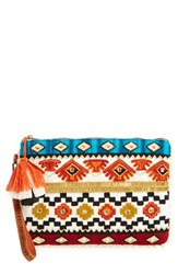Steven By Steve Madden Beaded Clutch
