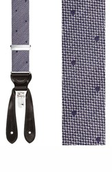 Men's Trafalgar 'Verona' Silk Suspenders