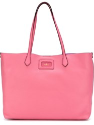 Hogan Shopping Bag Pink And Purple