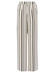 Coast Havana Stripe Trousers White Black
