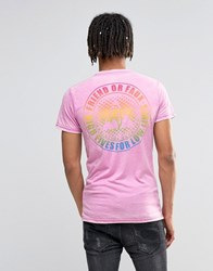 Friend Or Faux T Shirt Purple Pink