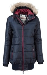 Superdry Sports Tall Puffer Jacket Blue