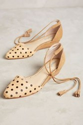 Anthropologie Farylrobin Finn Micro Wedges Honey