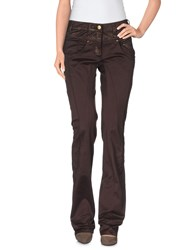 Class Roberto Cavalli Trousers Casual Trousers Women Dark Brown