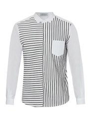 Tomorrowland Striped Cotton Shirt
