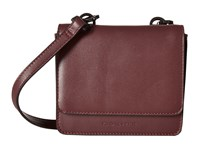 Kendall Kylie Baxter Mini Crossbody Red Plum Cross Body Handbags