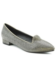 Daniel Paddock Way Sparkly Pointed Toe Pumps Metallic