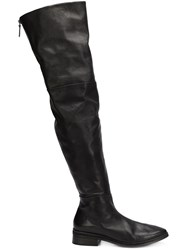 Marsell Thigh Length Boots Black