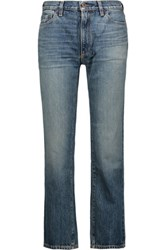 Simon Miller Tusas Cropped Boyfriend Jeans Light Denim