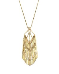 Bloomingdale's 14K Yellow Gold Beaded Dangle Chain Necklace 17