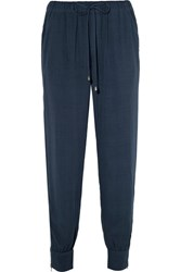 Splendid Voile Track Pants Navy