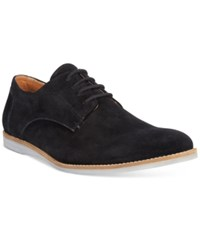 Bar Iii Men's Brad Suede Plain Toe Oxfords Only At Macy's Men's Shoes Black