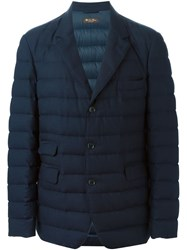 Loro Piana Padded Blazer Blue