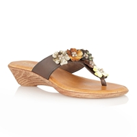 Lotus Sicily Casual Sandals Brown