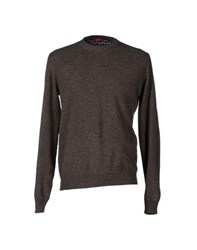 Altea Knitwear Jumpers Men Dark Brown