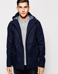 Jack Wills Parka In Navy