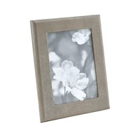 Graphic Image Leather Photo Frame Brown Tejus 5'X7