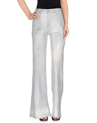 Ralph Lauren Black Label Denim Denim Trousers Women Blue