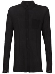 Lost And Found Long Sleeve Shirt Black
