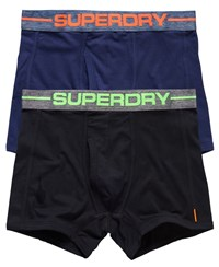 Superdry Sport Boxer Double Pack Navy