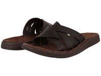 Ugg Delroy Chocolate Leather Men's Sandals Brown
