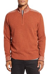Robert Graham Men's Terzo Quarter Zip Sweater
