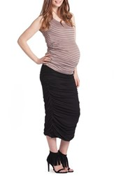 Lilac Clothing Women's Ruched Maternity Tank