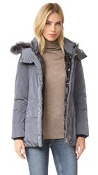Add Down Jacket With Fur Iron