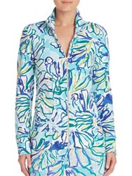 Lilly Pulitzer Reagan Zip Front Sweater Multi