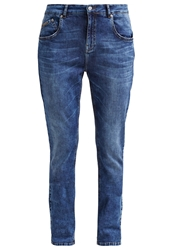 Opus Lisenka Relaxed Fit Jeans Ocean Blue Blue Denim