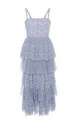 Alice Mccall A Beautiful Story Tiered Dress Purple