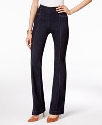 Inc International Concepts Curvy Ink Wash Flare Leg Jeans Only At Macy's