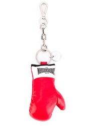 Alexander Mcqueen Boxing Glove Keyring Red