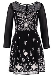 French Connection Cocktail Dress Party Dress Black Winter White