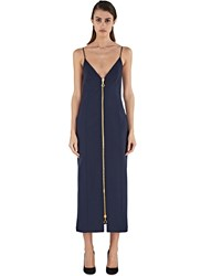 Ellery Barton Zipped Suiting Dress Navy