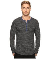 Lucky Brand Highland Henley Charcoal Men's Clothing Gray