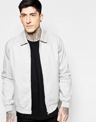 Brave Soul Harrington Jacket Grey